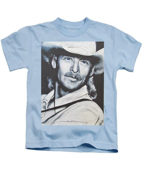 Alan Jackson - In The Real World Kids T-Shirt