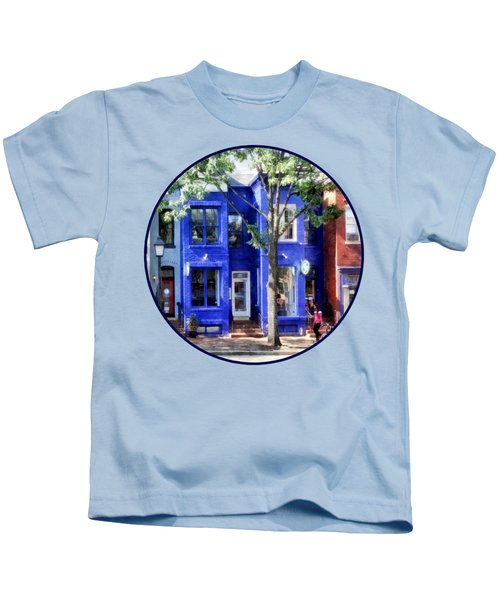 Alexandria Va - Colorful Street Kids T-Shirt