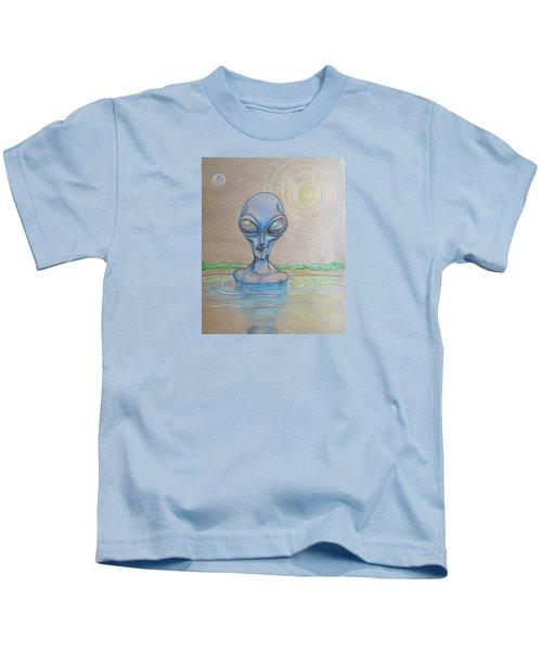 Alien Submerged Kids T-Shirt