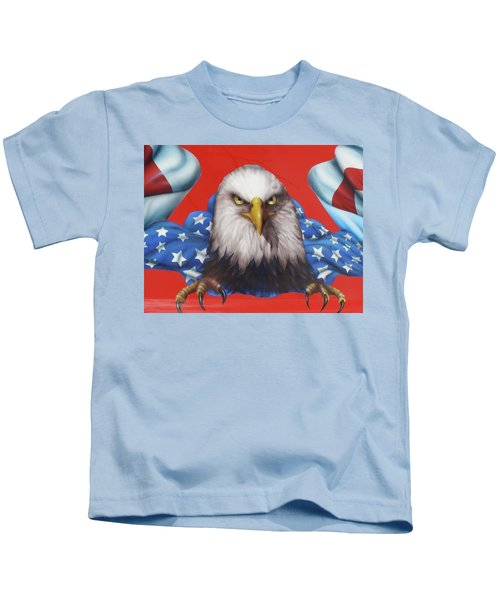 America Patriot  Kids T-Shirt
