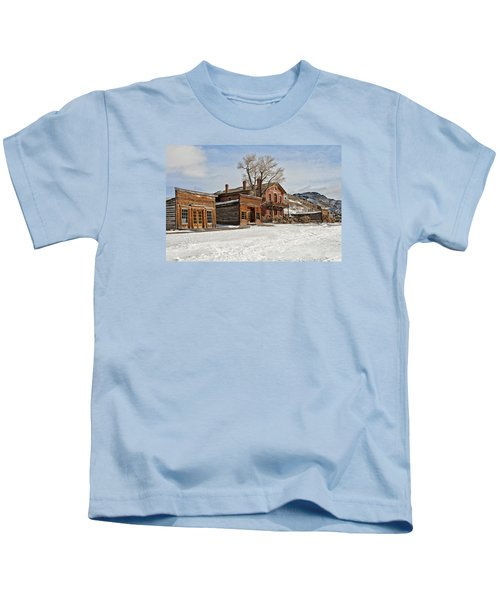 American Ghost Town Kids T-Shirt