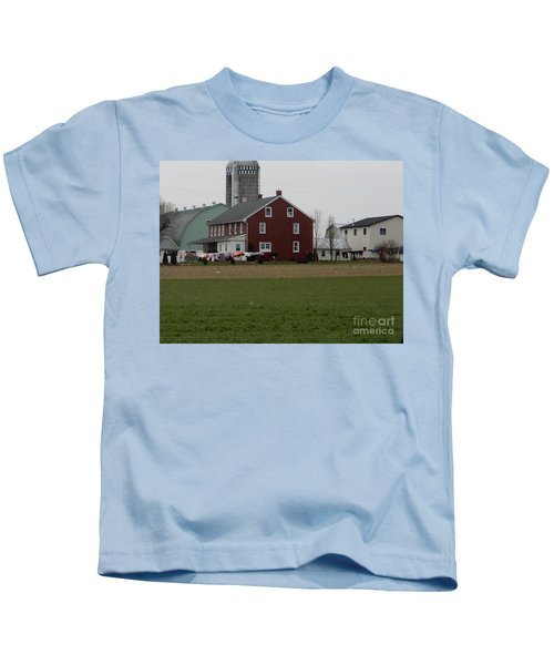 Amish Homestead 7 Kids T-Shirt