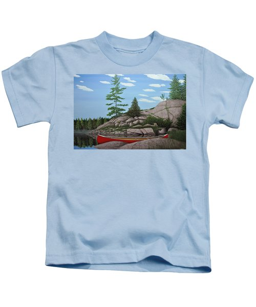 Among The Rocks II Kids T-Shirt