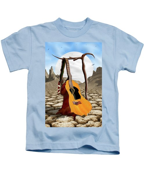 An Acoustic Nightmare Kids T-Shirt by Mike McGlothlen