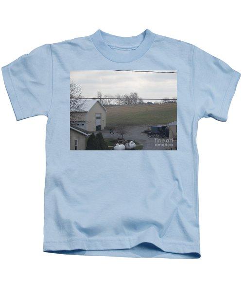 An Evening Game Kids T-Shirt