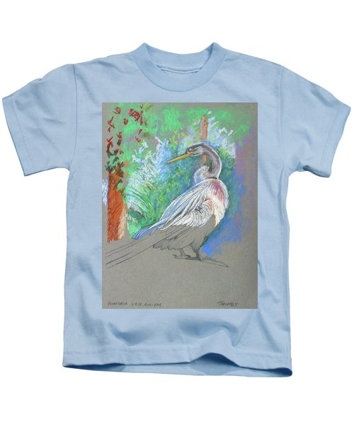 Anhinga Sarasota Plein Air Kids T-Shirt