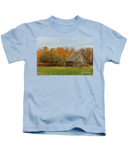 Apple Season At The Woods Kids T-Shirt