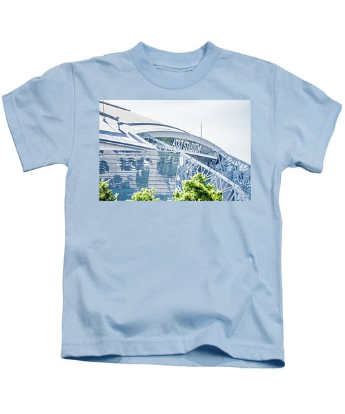 April 2017 Arlington Texas Att Nfl Cowboys Football Stadium  Kids T-Shirt