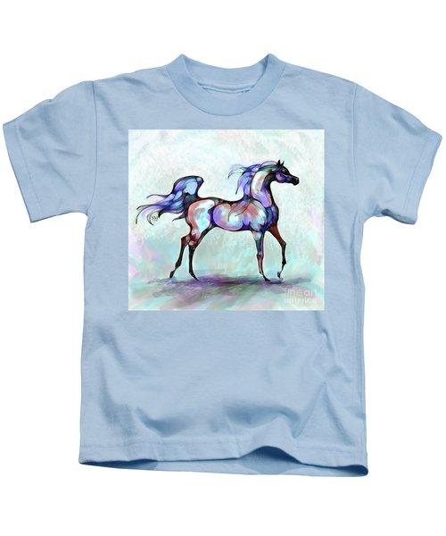 Arabian Horse Overlook Kids T-Shirt