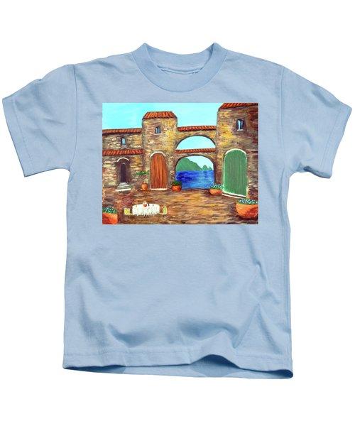 Arches Of Amalfi  Kids T-Shirt