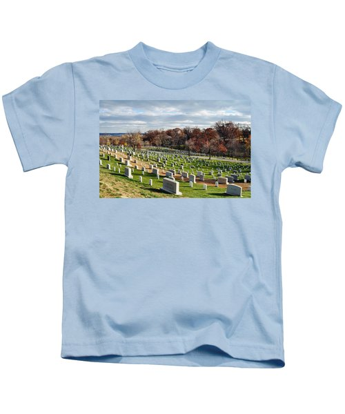 Arlington National Cemetery Hillside Kids T-Shirt