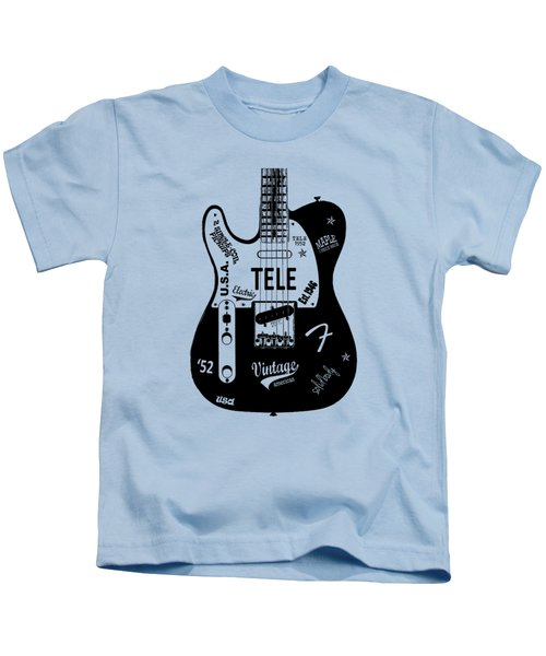 Fender Telecaster 52 Kids T-Shirt by Mark Rogan