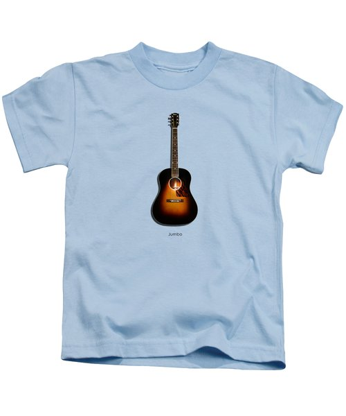 Gibson Original Jumbo 1934 Kids T-Shirt by Mark Rogan