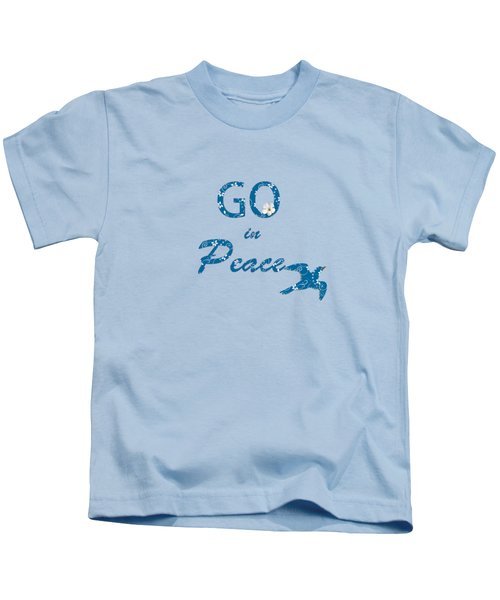 River Blue Kids T-Shirt