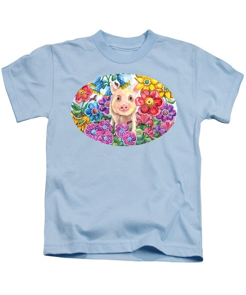 Penelope Kids T-Shirt by Shelley Wallace Ylst