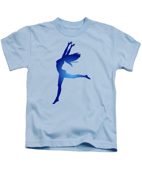 Dancing Woman Kids T-Shirt