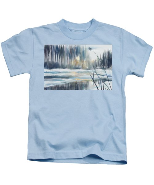 Snow From Yesterday Kids T-Shirt
