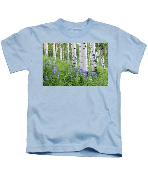 Aspen And Lupine Kids T-Shirt