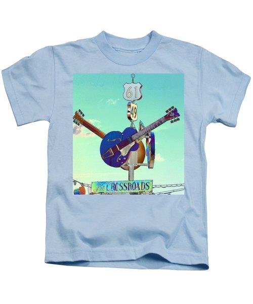 At The Crossroads Kids T-Shirt