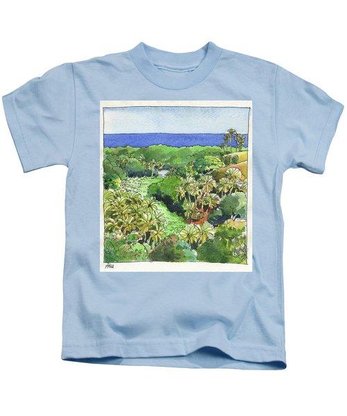 Atiu Lake View Kids T-Shirt