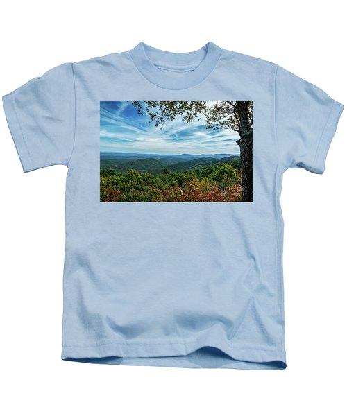 Atop The Mountain Kids T-Shirt
