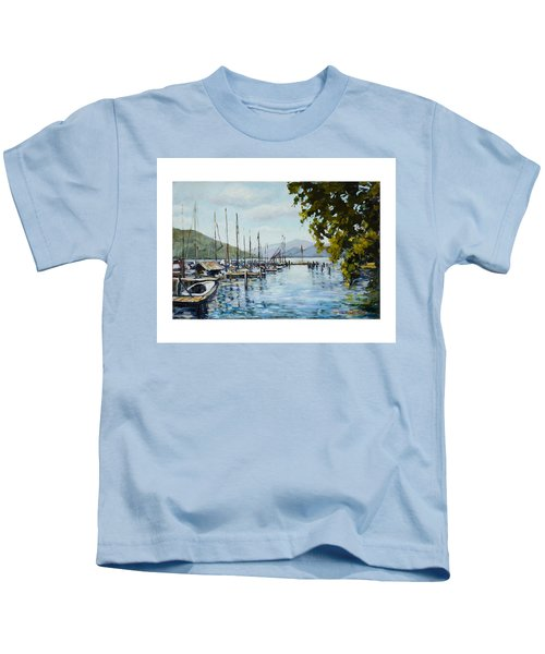 Attersee Austria Kids T-Shirt
