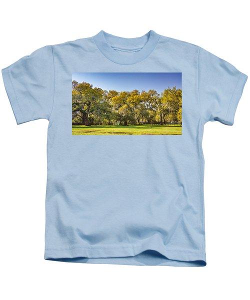 Audubon Park New Orleans Kids T-Shirt
