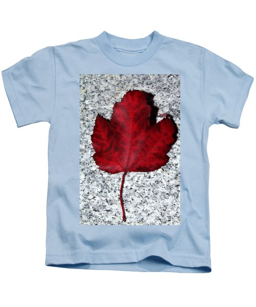 Autum Maple Leaf 1 Kids T-Shirt