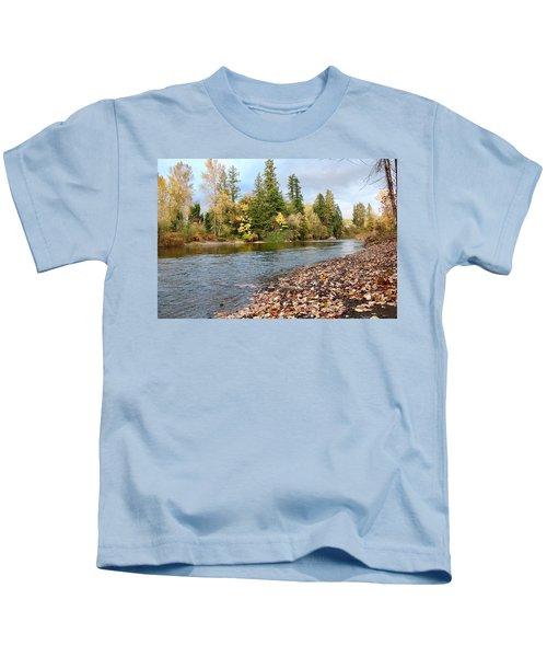 Autumn On The Molalla Kids T-Shirt