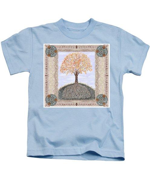 Autumn Tree Of Life Kids T-Shirt