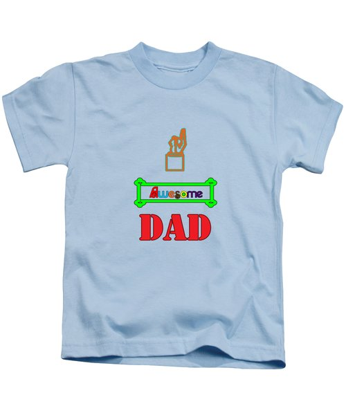 Awesome Dad Kids T-Shirt