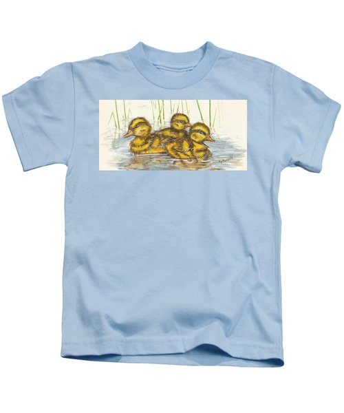 Baby Ducks For Ma Kids T-Shirt