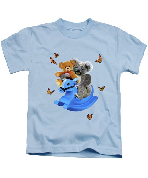 Baby Koala Bear Rocks Kids T-Shirt