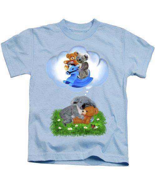 Baby Koala Dreams Kids T-Shirt