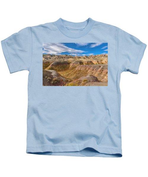 Badlands South Dakota Kids T-Shirt