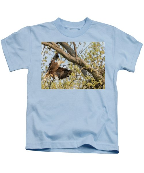 Bald Eagle Catch Of The Day  Kids T-Shirt
