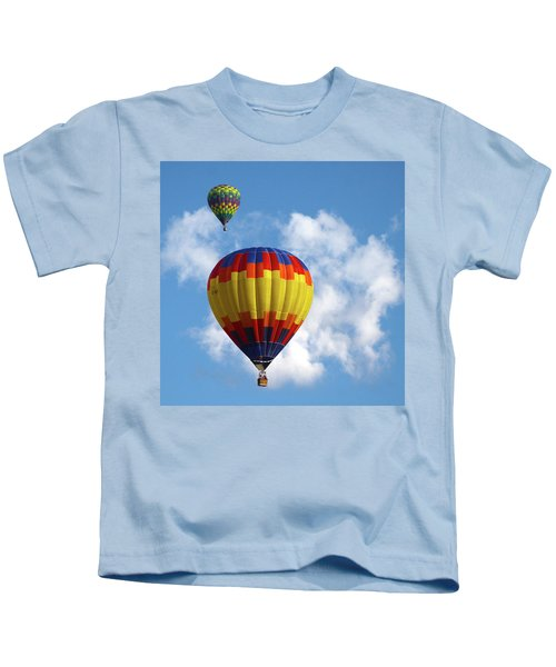 Balloons In The Cloud Kids T-Shirt