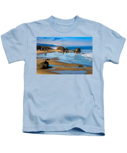 Bandon Beach Kids T-Shirt