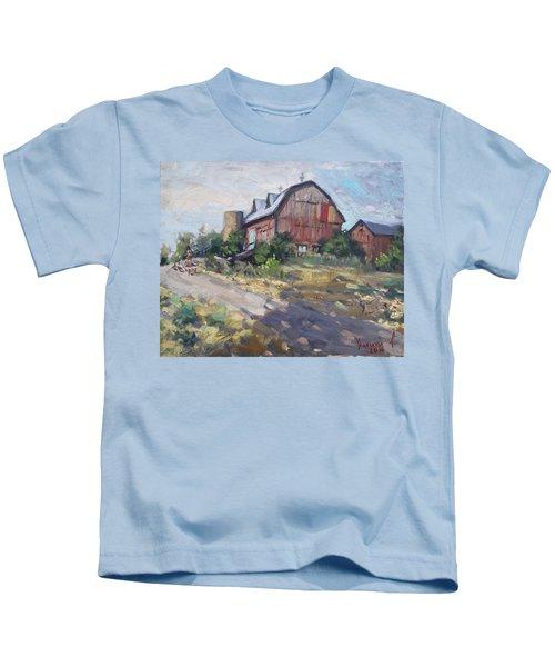 Barns In Georgetown Kids T-Shirt