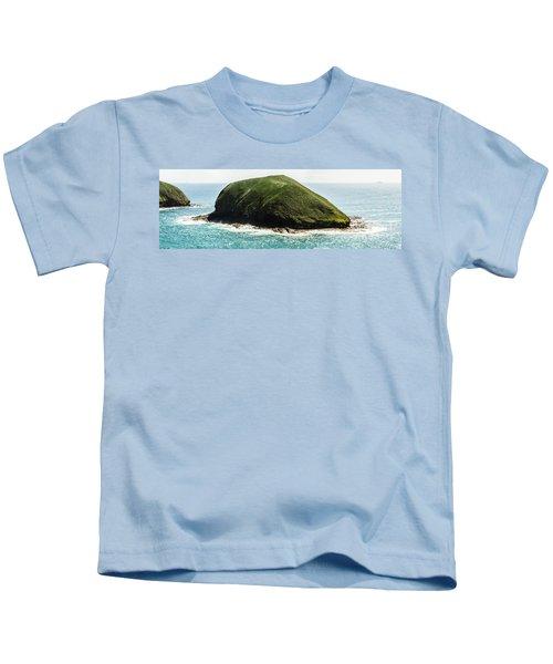 Bass Strait Island Wilderness Kids T-Shirt