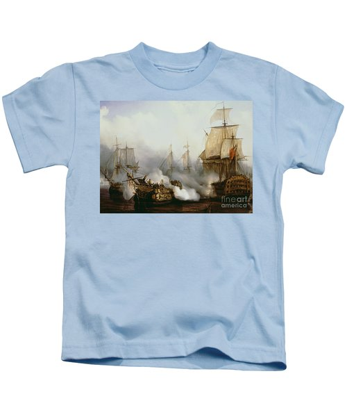 Battle Of Trafalgar Kids T-Shirt