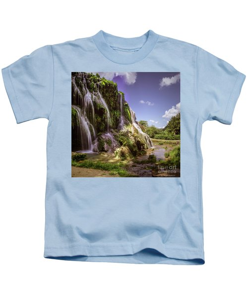 Baume Les Messieurs, France. Kids T-Shirt
