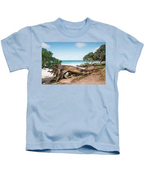 Beach Camping Kids T-Shirt