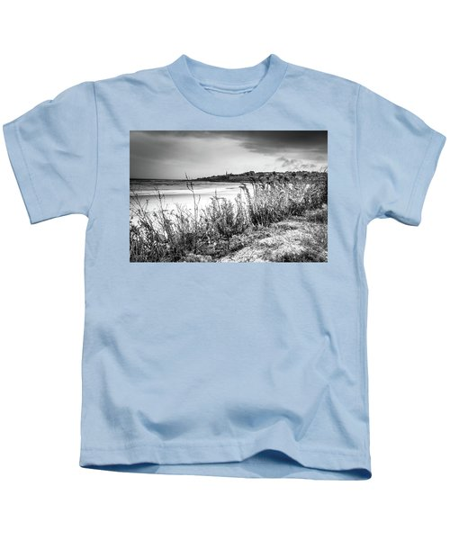 Beach In Ogunquit Kids T-Shirt