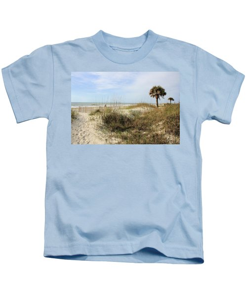 Beach Path Kids T-Shirt