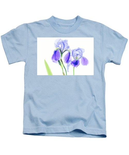 Bearded Iris Kids T-Shirt