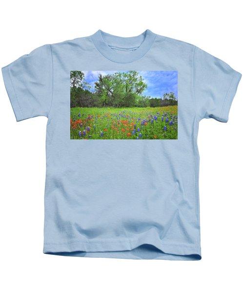 Beautiful Texas Spring Kids T-Shirt