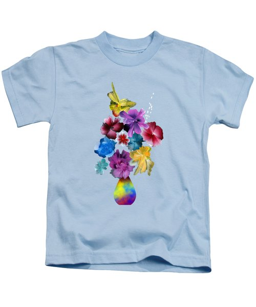 Beauty In Fragility Kids T-Shirt