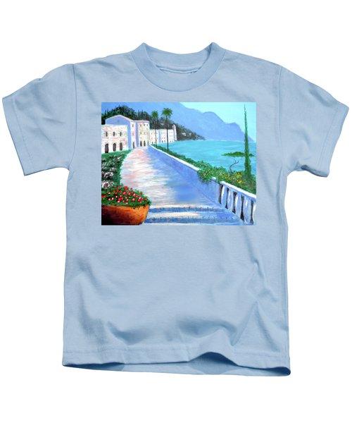 Beauty Of The Riviera Kids T-Shirt