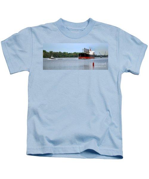Begin The Long Journey Kids T-Shirt